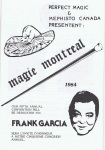 1984 Magie Montreal program cover