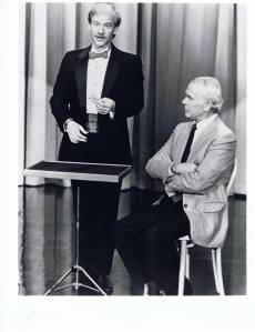 Michael Ammar and Johnny Carson - Then