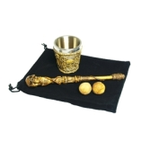 Gothic Chop Cup, Balls, and Wand