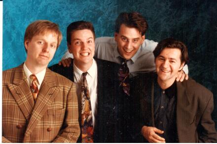 Mac King, Jean Boucher, Dave Williamson, Carl Cloutier. 2