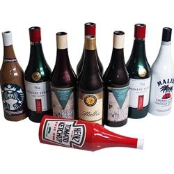 Mult bottles w ketchup